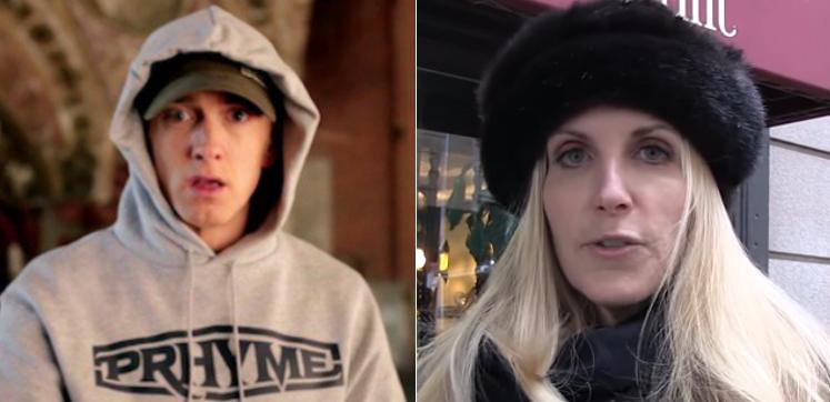 Ann Coulter fires Back At Eminem[VIDEO]