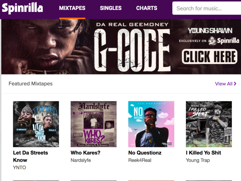 Spinrilla Sued By MajorLabels