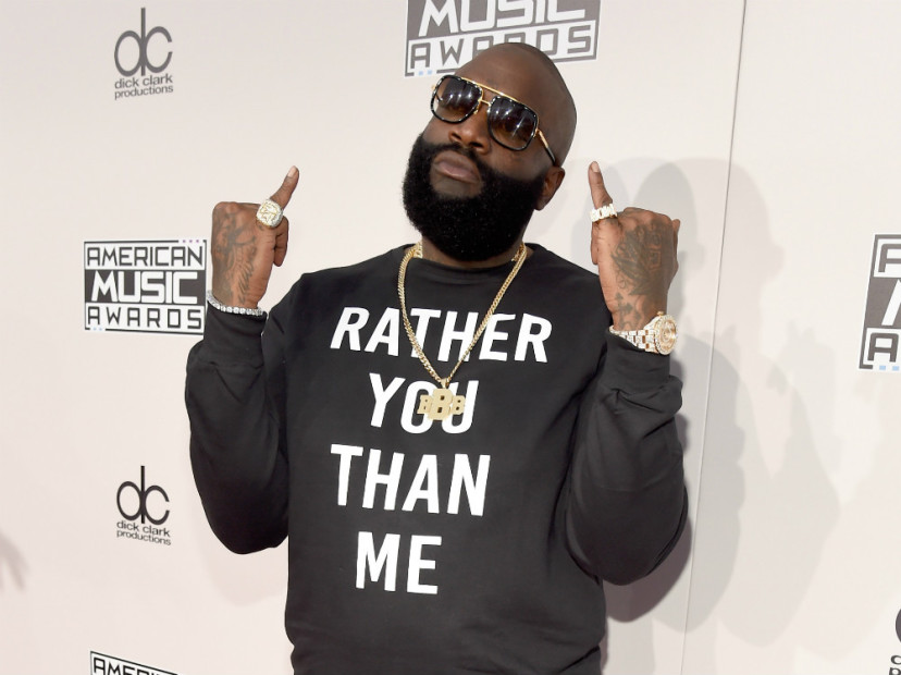 "Rick Ross Shares All-Star Feature List For ""Rather You Than Me"""