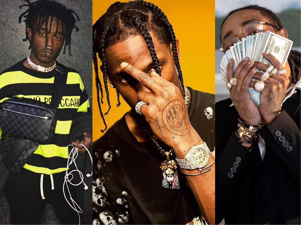 "[Latest Songs] Travis Scott f. Quavo,Lil Uzi Vert-""Go Off"""